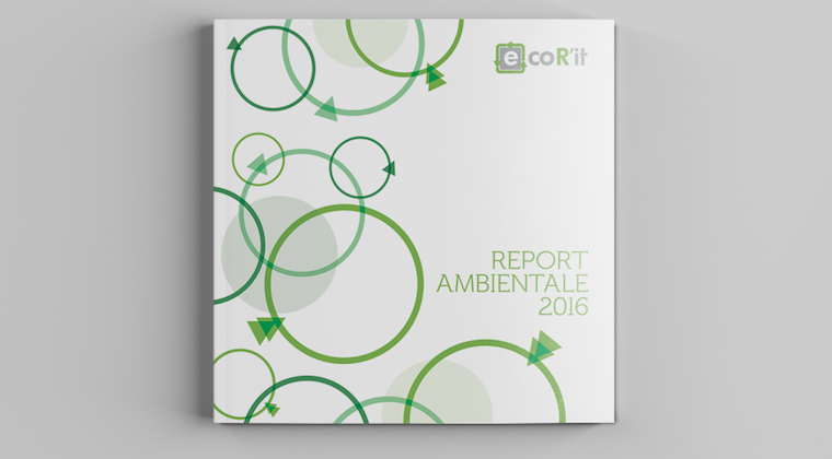 La grafica per un report ambientale: ecoR'it